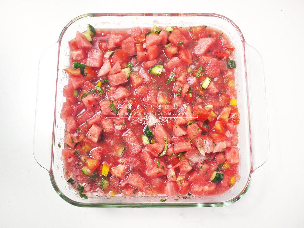 孤身廚房-西班牙西瓜冷湯19