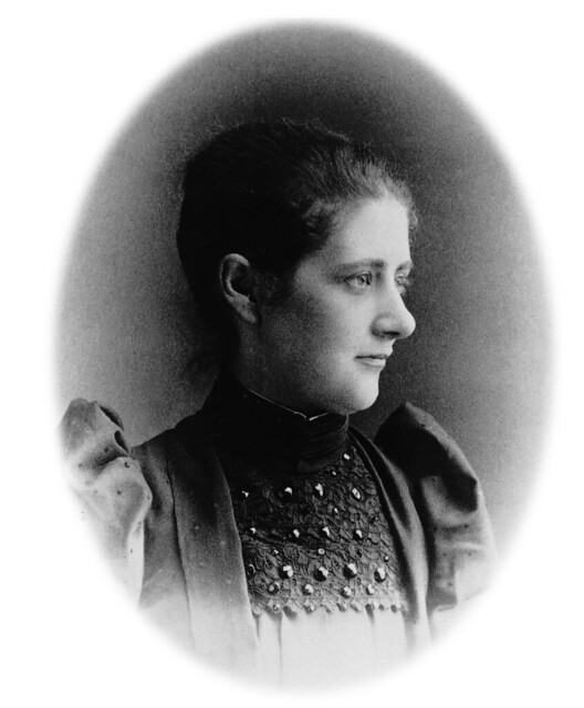 Beatrix Potter in 1892, then aged 26