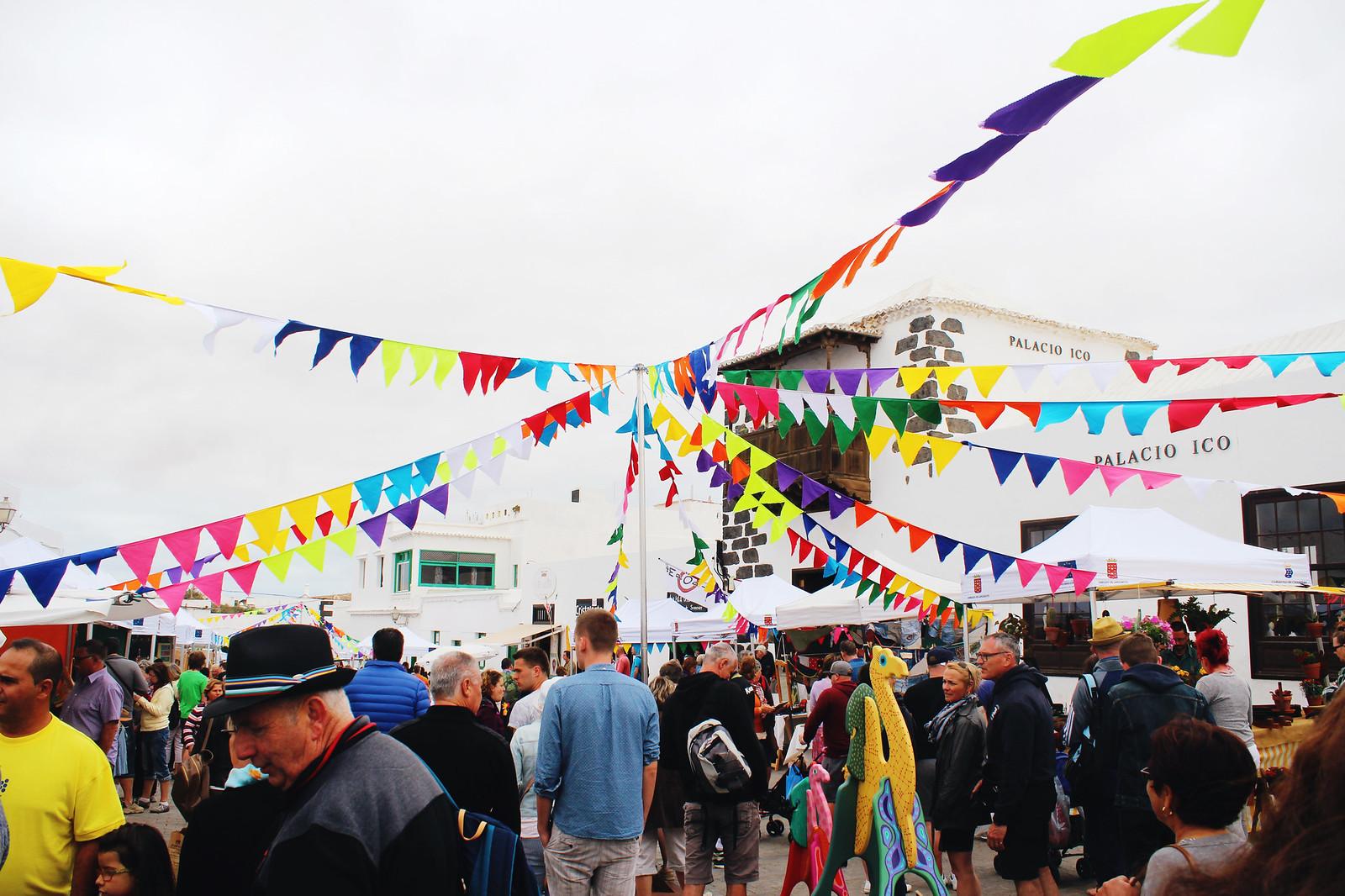 Lanzarote Teguise market