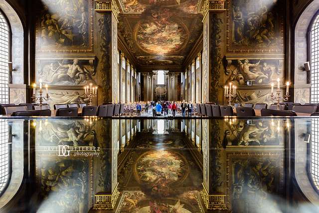 Painted Hall, Old Royal Naval College, Greenwich, London, UK