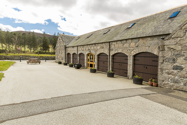 Royal Lochnagar Front of Shop
