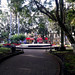Peace at Alajuela's central park, a place where supposedly one can't get off without receiving a nickname