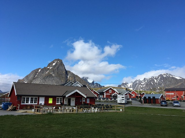 Olstinden over Reine.