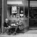 Cafe couple by Allan Rostron