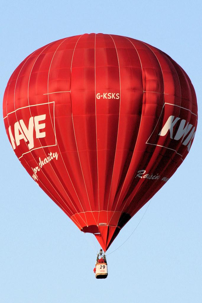 Ballonfahren Heissluftballon Cameron N-105 Weitere Sportarten