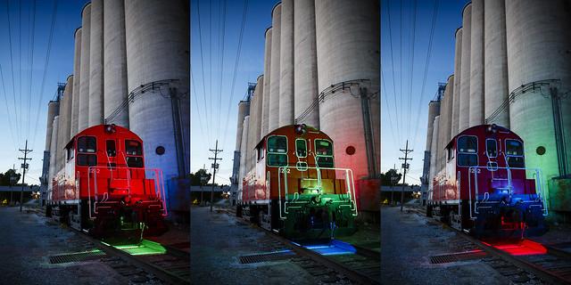 RGB Engine Triptych