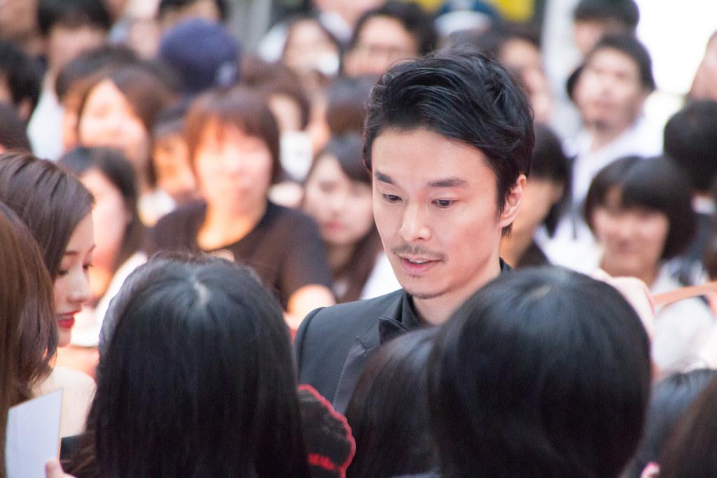 Godzilla Resurgence World Premiere Red Carpet: Hasegawa Hiroki