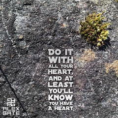 #carved in a #rock with a #heart #quote #inspiration #photo #alexgate #art #photography #photooftheday