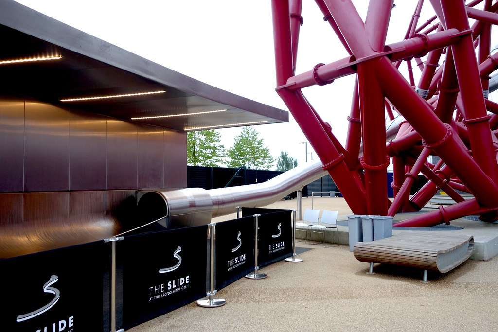 ArcelorMittal Orbit #AtixSlidesTheOrbit