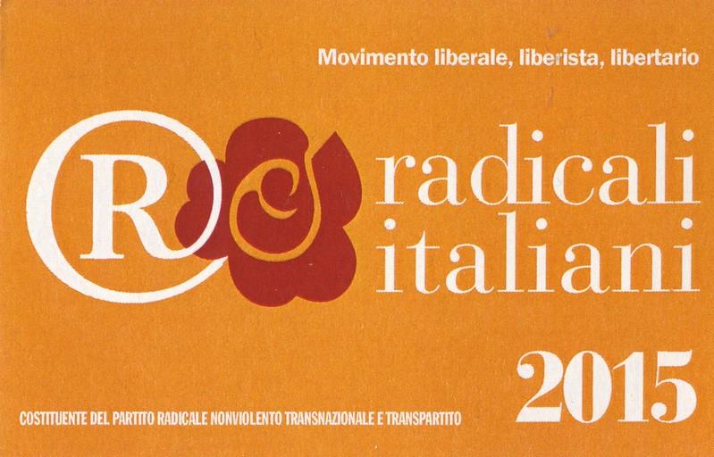Radicali Italiani  2015