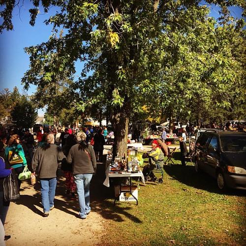 Saturday morning trip to the Princeton Flea Market! #fleamarket #princeton #wisconsin