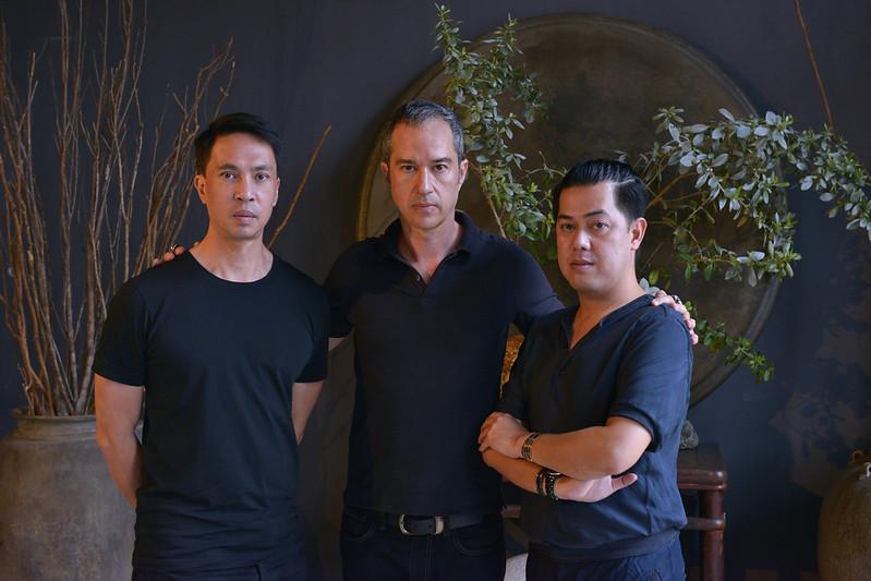 Tata Montilla, Mark Wilson, Ian Giron