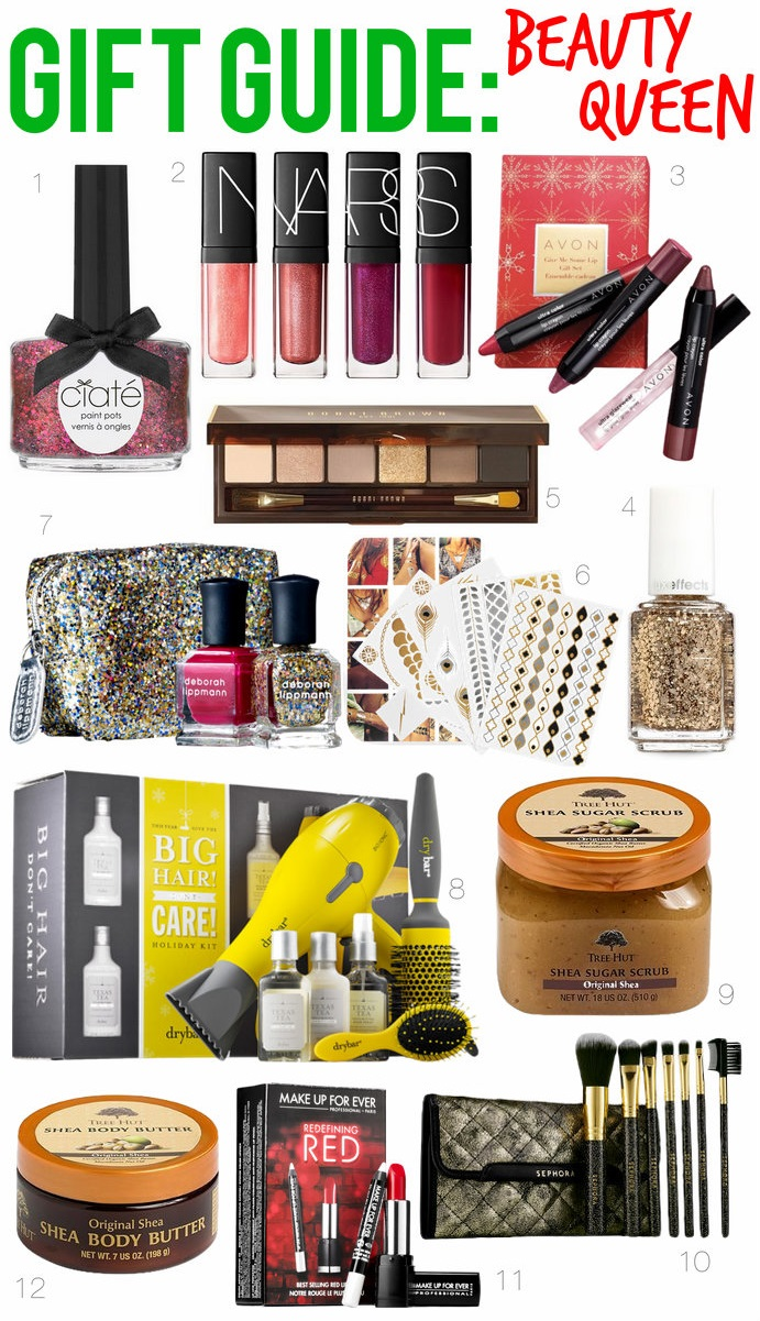 Gift Guide: Beauty Queen | Holiday Gifts | #LivingAfterMidnite