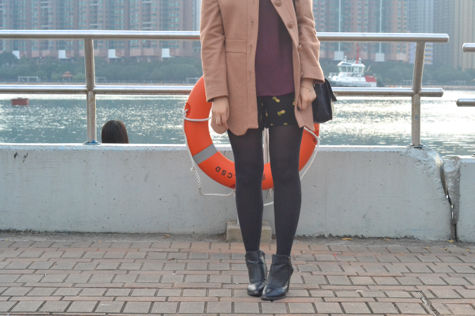 Daisybutter - HK Lifestyle and Fashion Blog: what i wore, HK winter outfit ideas, camel coat, how to style a camel coat, mulberry bayswater shoulder bag