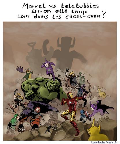 Des super-héros zombies affronteront Ultron, l'année prochaine, par Louis Loche