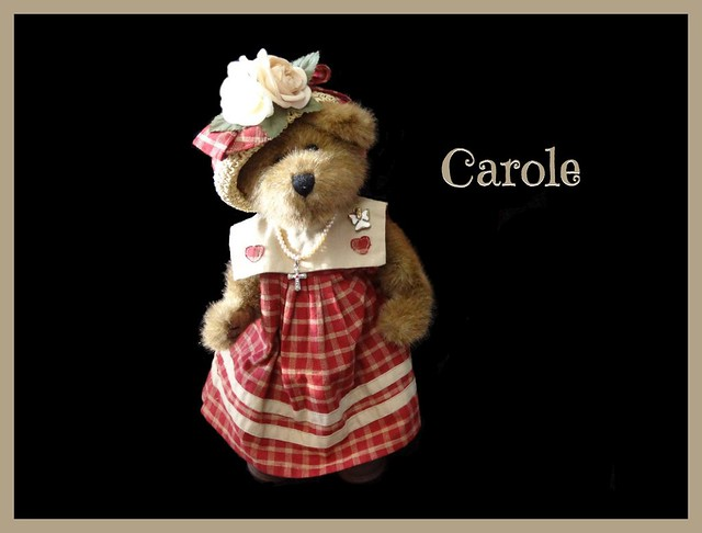 Hi, my name is Carole.