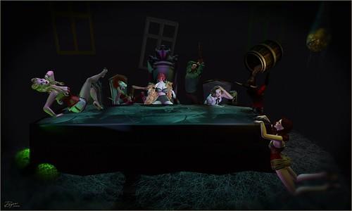 ROQUAI's Last Supper - 7 Sins