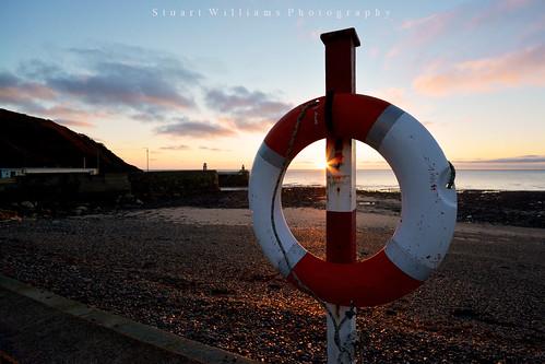 beach sunrise coast isleofman laxey