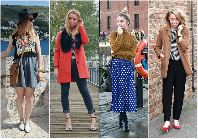 2014 fashion blogger outfits roundup - September-December