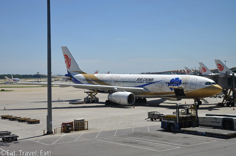 Air China Special Livery A330 at Beijing Capital International Airport (PEK)