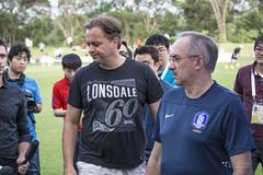 Mark Bosnich & Uli Stielike (SOUTH KOREA) 2015 AFC Asian Cup