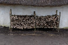 Neolithic Houses 1st woodstore - stocked up