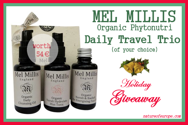 Mel Millis Daily Travel Trio Giveaway
