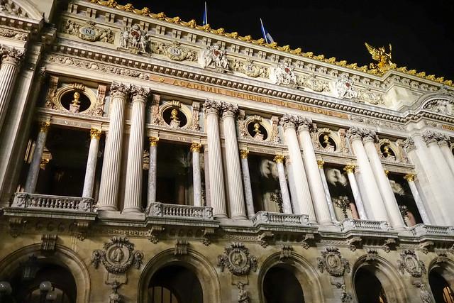 ガルニエ宮(Palais Garnier)オペラ座(l'Opéra)