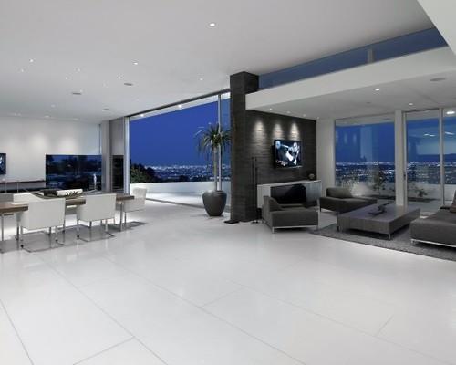 Modern Homes Living Room