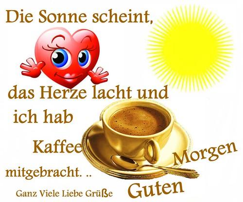 Guten Morgen Bilder Guten Morgen Zusammen Und Einen Schönen Tag