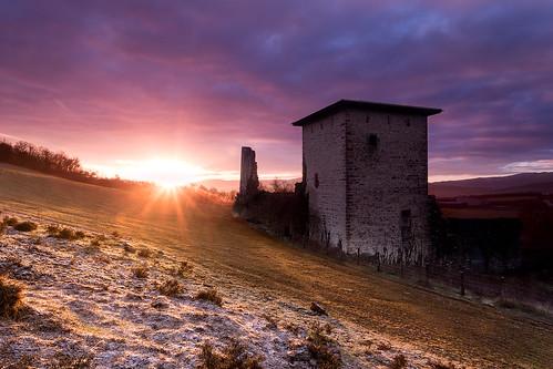 tower castle sunrise canon eos torre amanecer alava ef 1740 6d gebara alavavision alavavisiob