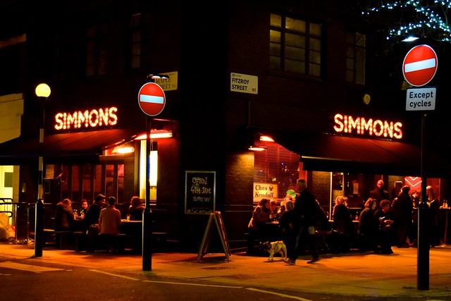 Simmons, Fitzrovia