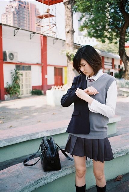 Photo:Lonely ・ 女学生 By Shutter B (R/N)