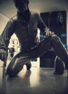 Captain Matthew Flinders 的形象. statue goodmorning euston
