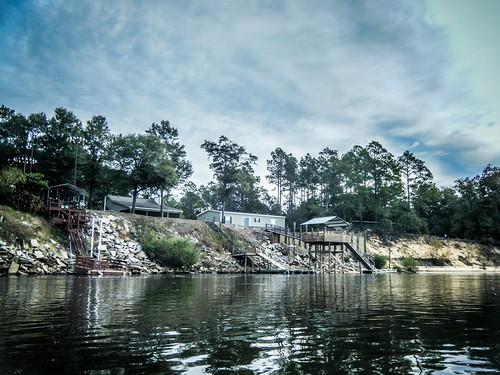 Savannah River from Stokes Bluff with LCU Nov 7, 2014, 4-18 PM Nov 8, 2014, 9-030