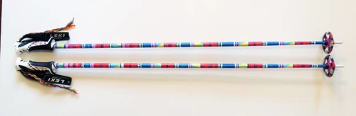 Leki blinged poles