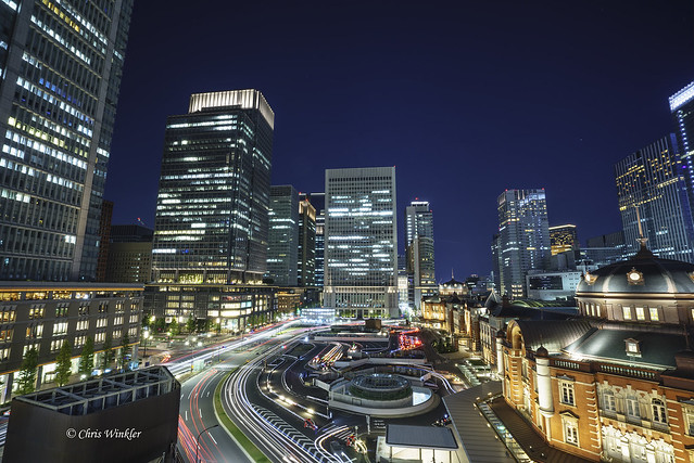 東京駅前② Tokyo Station