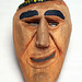 Cherokee 'Booger Mask' by Mathers Museum of World Cultures