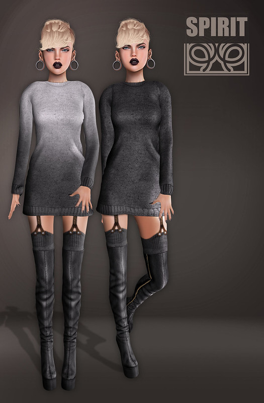 SPIRIT - Willa pulover dress [Winter Trend 2014]