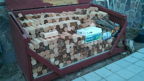 Happiness is a Full Woodbox