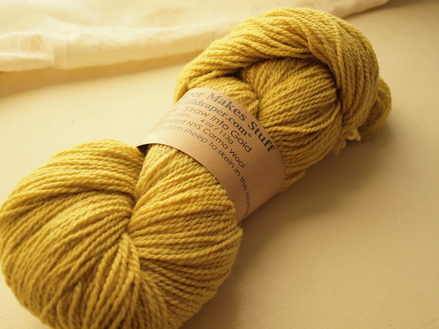 yarn for nieceling's sweater
