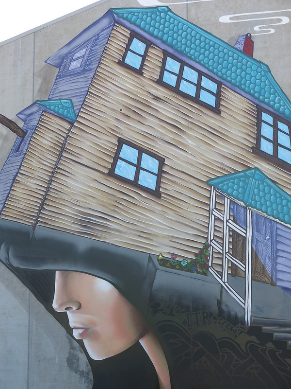 Wongi art on St Asaph Street