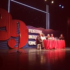 Conferencia de prensa de #JAUJA en #29MDQFest @29MDQfest con #LisandroAlonso #ViggoMortensen y cía