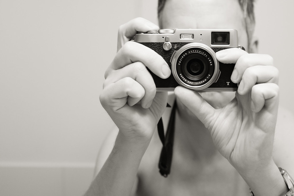 Fuji X100T Selfie II