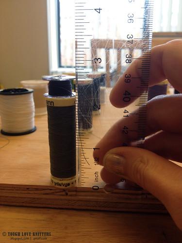 Thread Boards - Measuring Spools