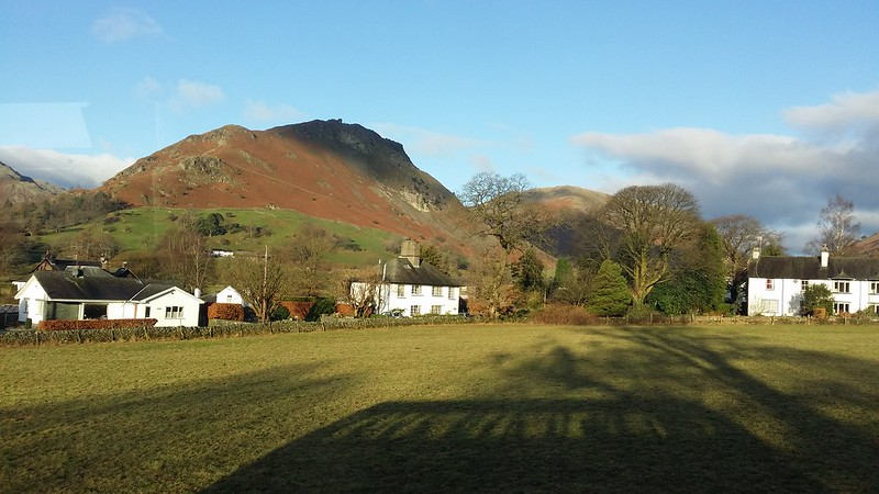 Helm Crag from the bus