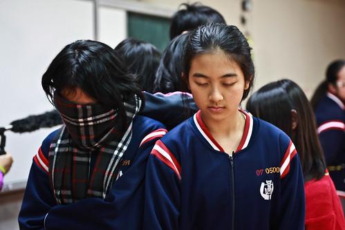 學生在課堂上透過角色扮演,了解動物表演背後的種種故事;圖片來源:台灣動物平權促進會