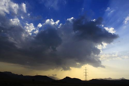 sunset sky cloud sun clouds canon landscape eos yemen rays sanaa sana d550 sooc