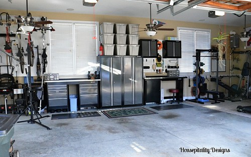 Garage Organization-Housepitality Designs