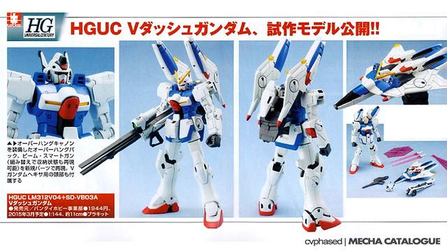 HGUC V-Dash Gundam - Prototype Shots